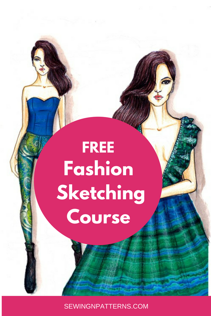 Sketch Like Pro In 30 Days With Free Fashion Illustration Course Fashion Illustration Tutorial Illustration Fashion Design Fashion Design Sketches