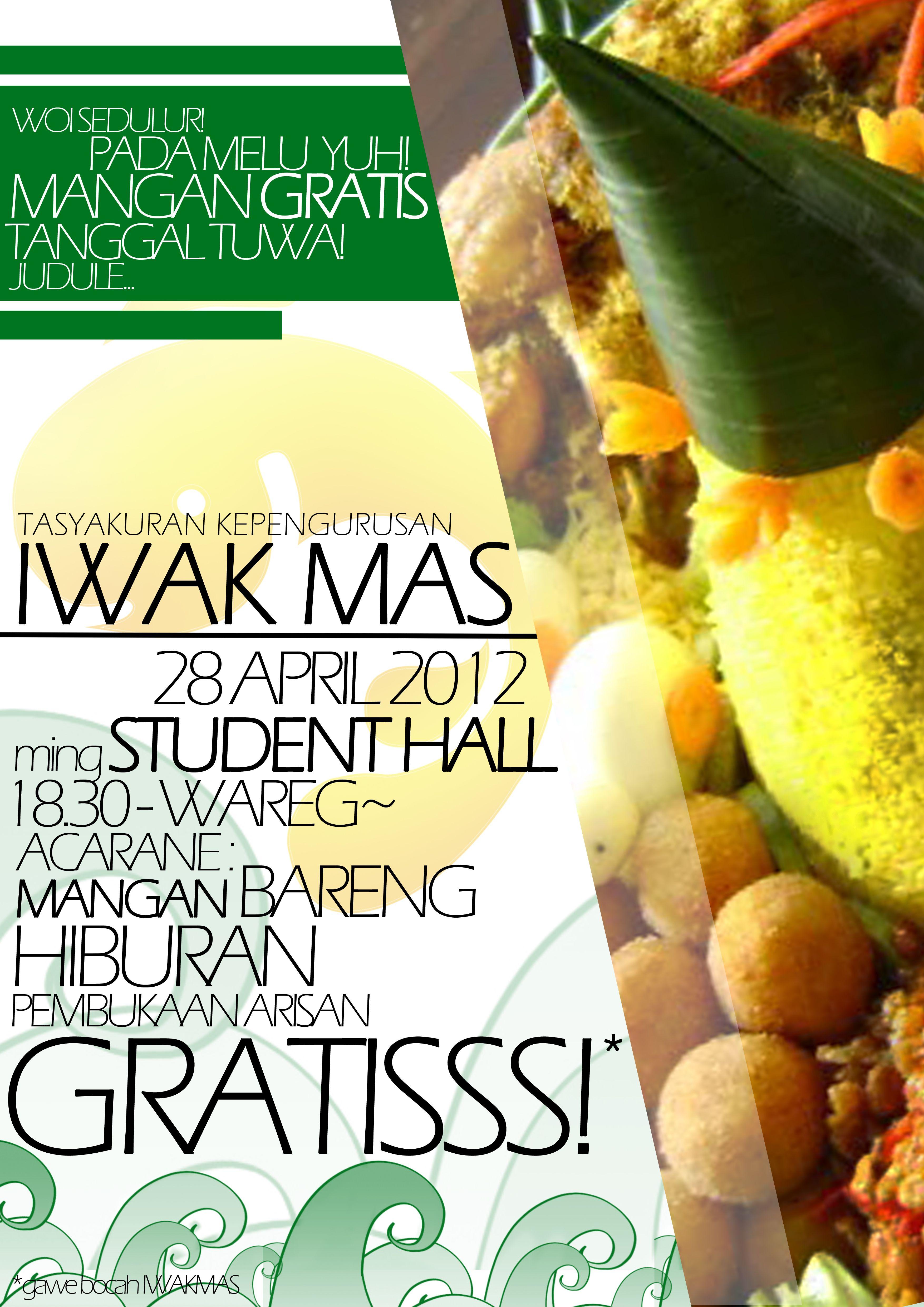 Iwakmas Halal Bihalal Posters Work Poster And Pamflets Design