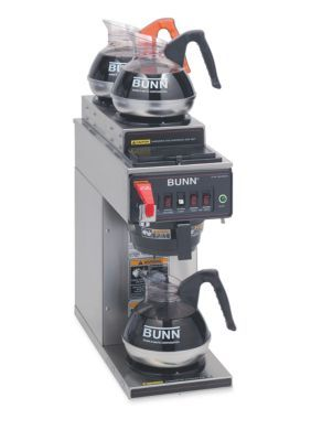 Bunn Automatic Commercial Coffee Brewer With 3 Warmers Cwtf353