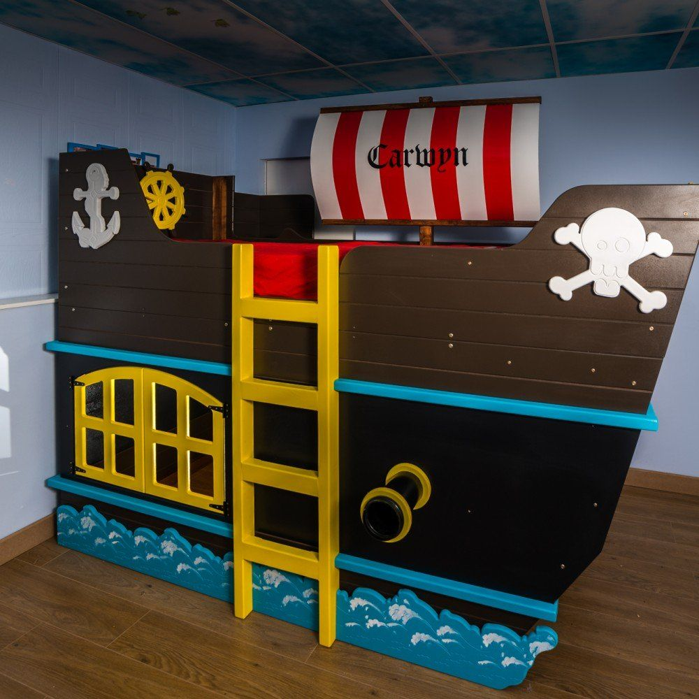 Deco Chambre Pirate Garcon Pirate Ship Bunk Bed Kids Room Pinterest Lit Pirate Lit And