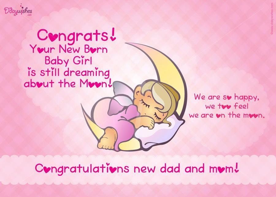ENJOY YOUR NEW EDITION TO THE FAMILY ) CONGRATULATIONS TO YOU - baby girl congratulations card