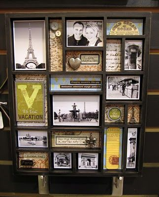 Pin By Brenda Vaughan On Dwelling Diy Shadow Box Travel Shadow Boxes Travel Decor Diy