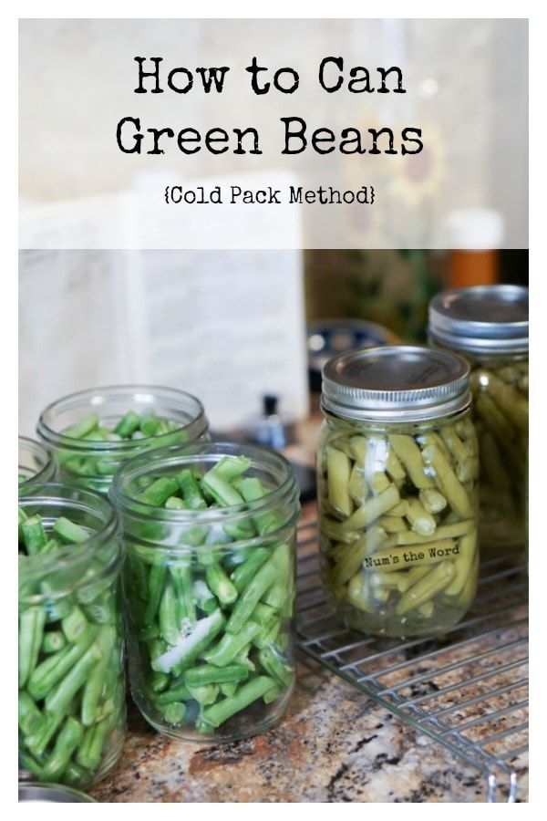 This step by step with photos guide on how to can green beans – the wet pack method, is perfect for anyone new to canning. Simple, clear steps to canning garden fresh green beans to last all winter long!