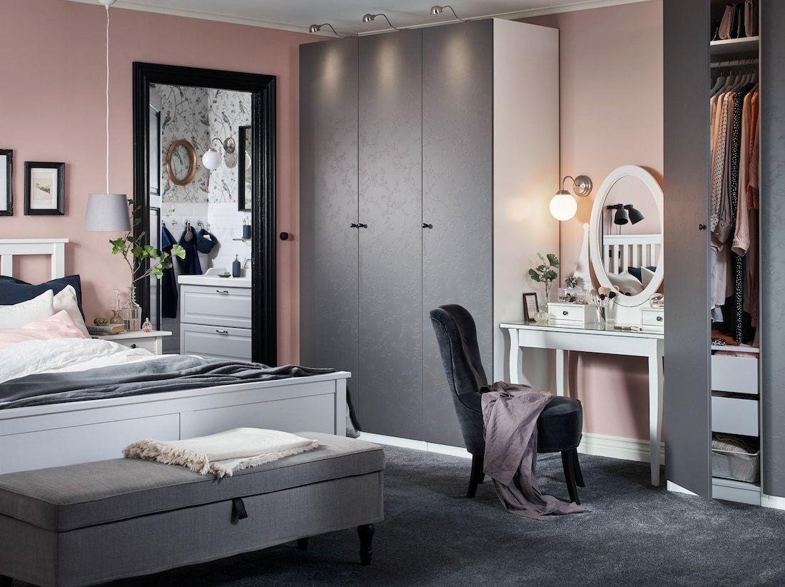 Lass Deinen Kleiderschrank Erblühen Ikea Schlafzimmer