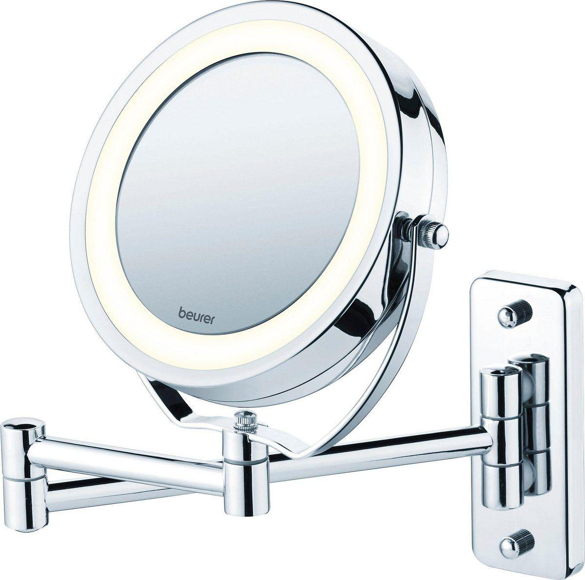 Kosmetikspiegel Bs 59 Drehbarer Spiegelflache Und Helles Led Licht Kosmetikspiegel Led Licht Und Led