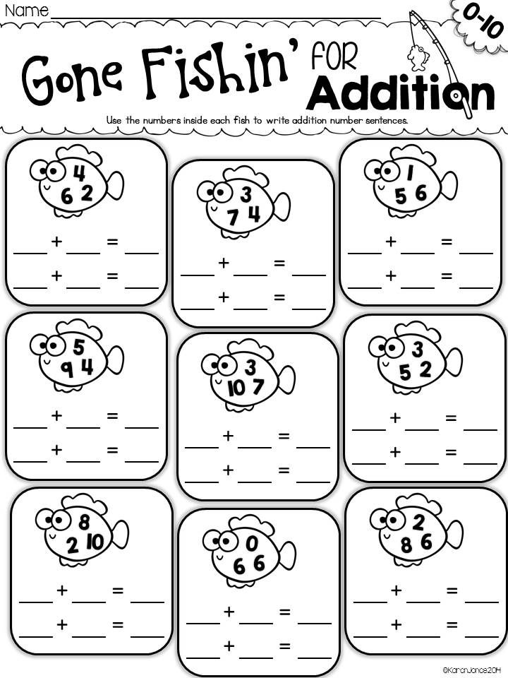 The ULTIMATE Printable Math Pack: Kindergarten Math and