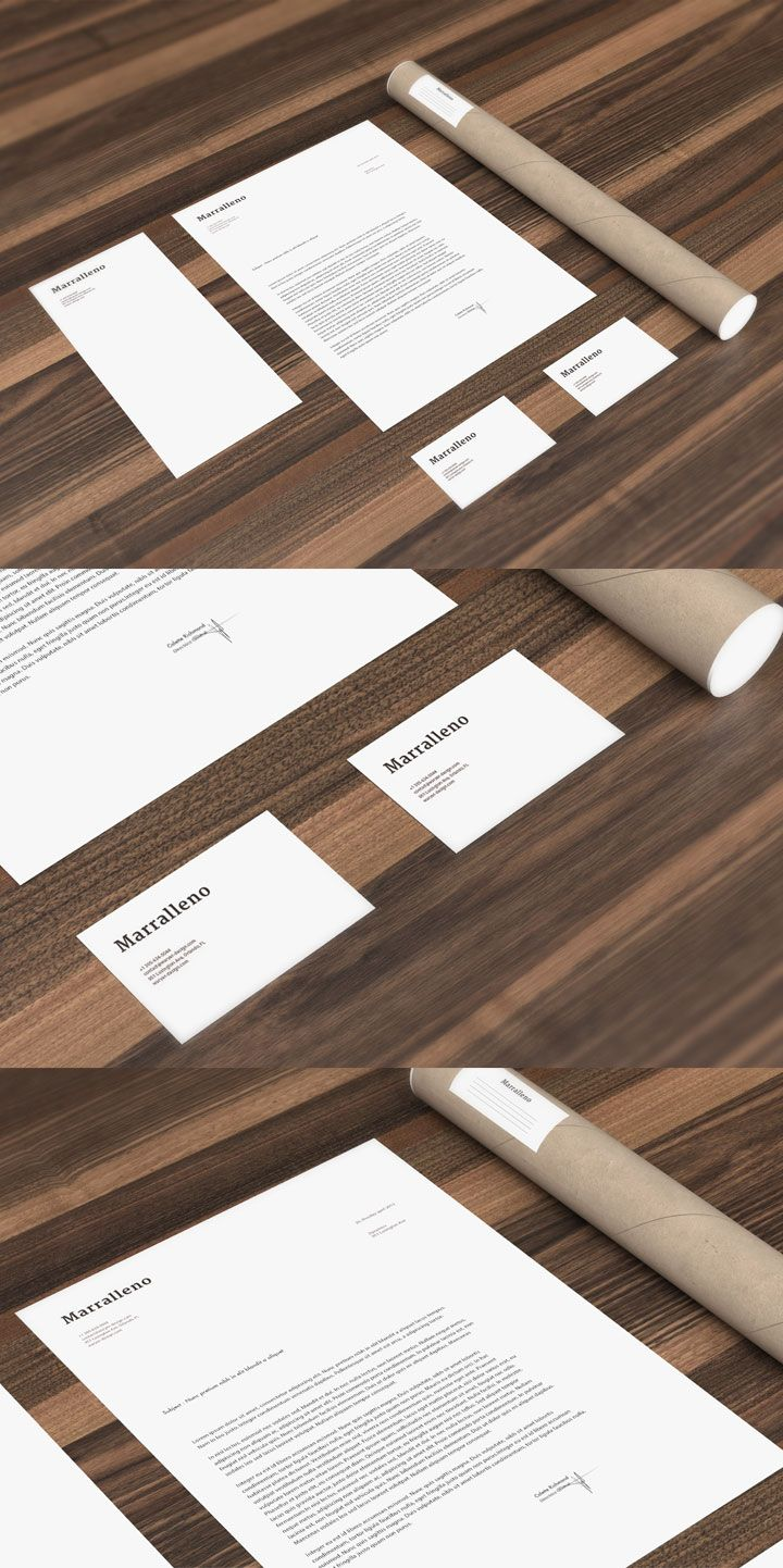 Free - Collection 4 - Mock Up 3 - Stationery - Creative Particles