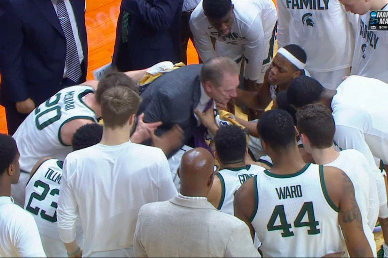 Tom Izzo Defended Berating A Player By Saying He Wasnt Doing His Job All Sports Games And Sports Hd Streaming Channels W Tom Izzo Sports Betting Sportsbook