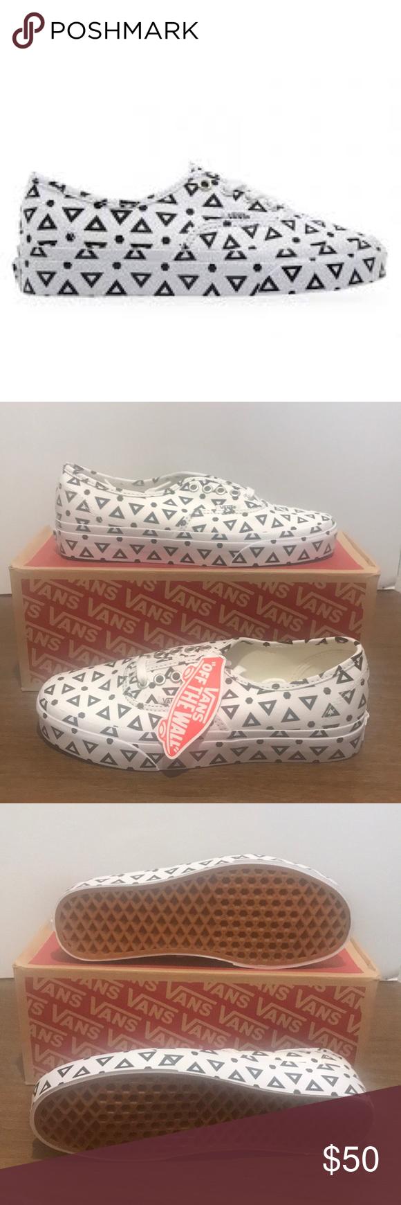 445957da497418 Vans Authentic Vans Authentic Mono Print Geo Vans Shoes