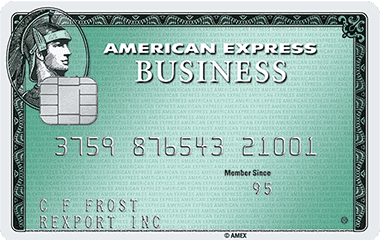 Business Green Reward Card Is Issued By American Express