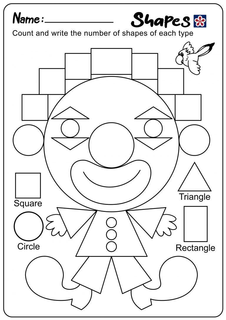 Shapes And Colors Worksheets For Kindergarten Students Teachersmag Com Color Worksheets Kindergarten Worksheets Shapes [ 1086 x 768 Pixel ]