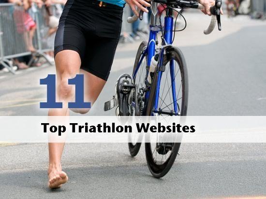 Top 11 Triathlon Websites Triathalon Bike