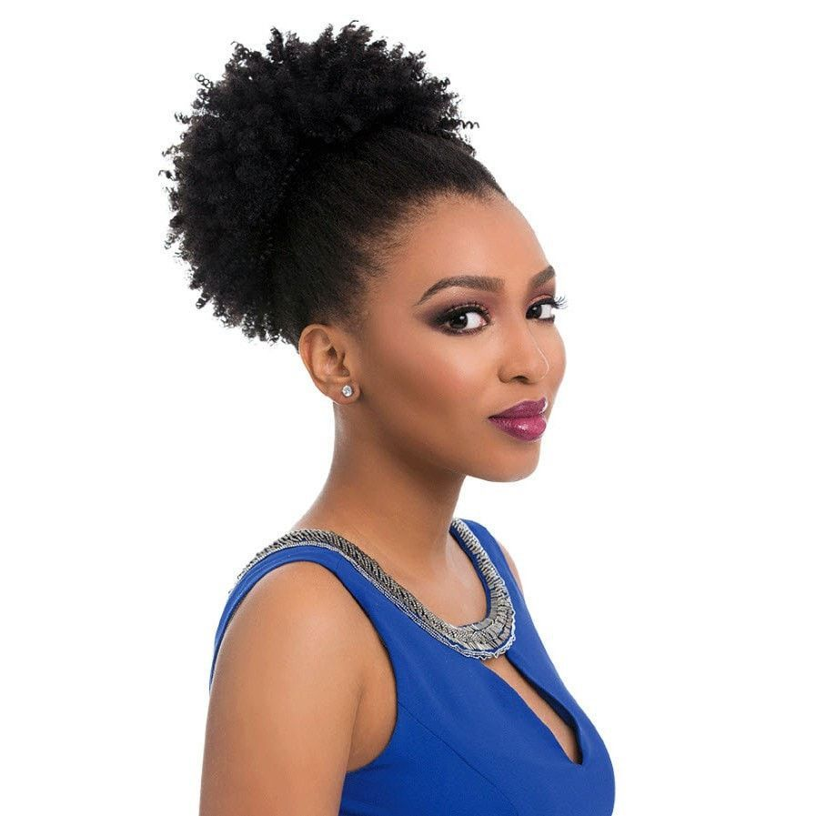 Sensationnel Instant Pony Synthetic Ponytail Coil Curly Weave Hairstyles Fake Hair Buns Natural Hair Styles