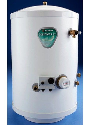 Gledhill Stainless Lite Pressurised Hot Water Cylinder 250 Litres ...