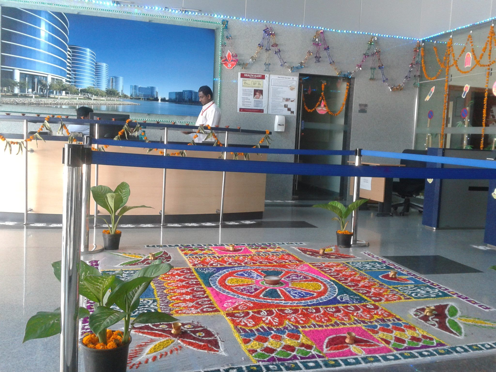 our hyderabad offices get in the holiday mood with a diwali