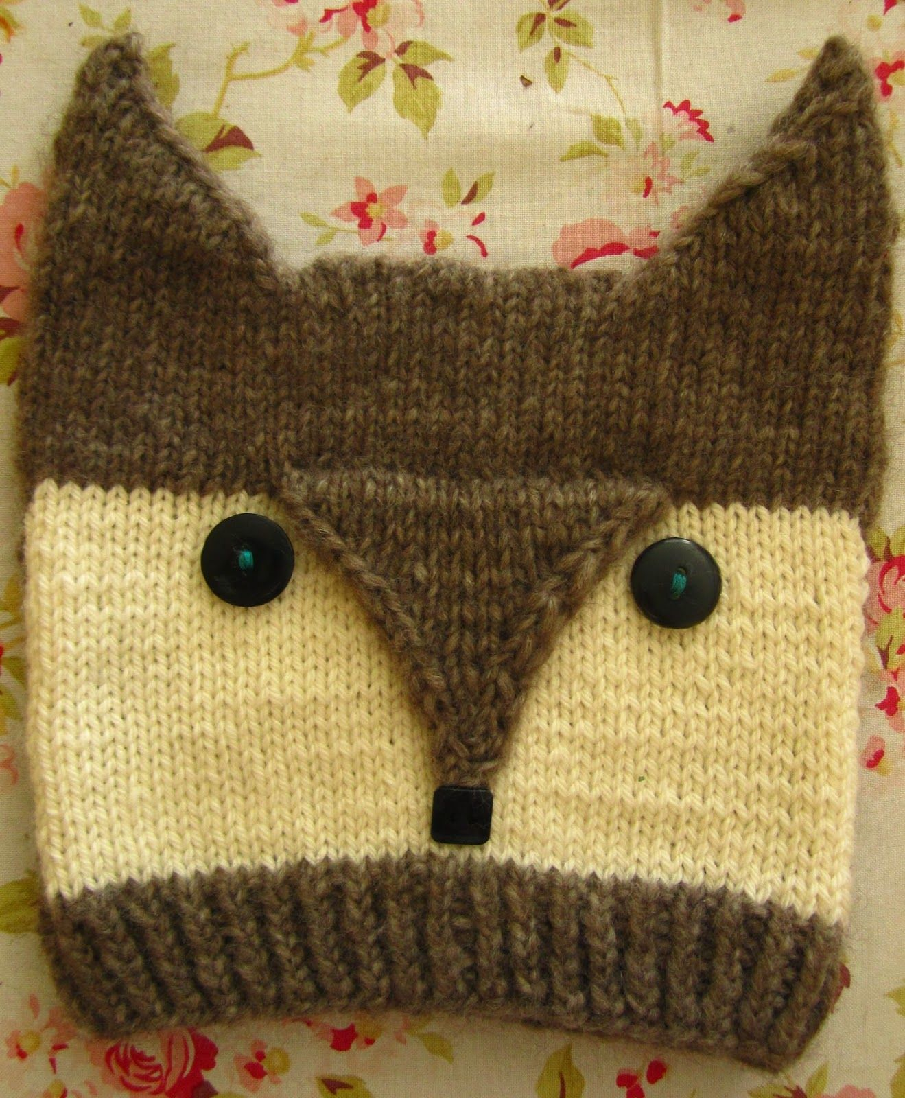 knitted Wolfe Cap