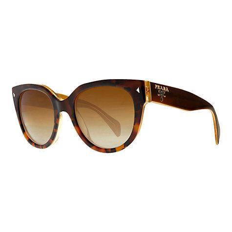 Prada PR170S Classic Logo Oval Sunglasses johnlewis.com
