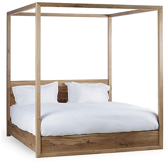 Thomas Laboratories Otis Canopy Bed Natural Bina Headboards For Beds Bed Frame Headboard Twin Canopy Bed