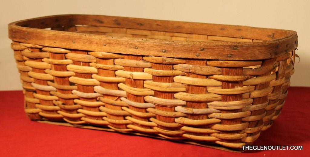 Great antique barn find woven basket. AAFA exceptional primitive. upstate barn  https://t.co/oyqMtWsvPn https://t.co/MNU4LZvWKd