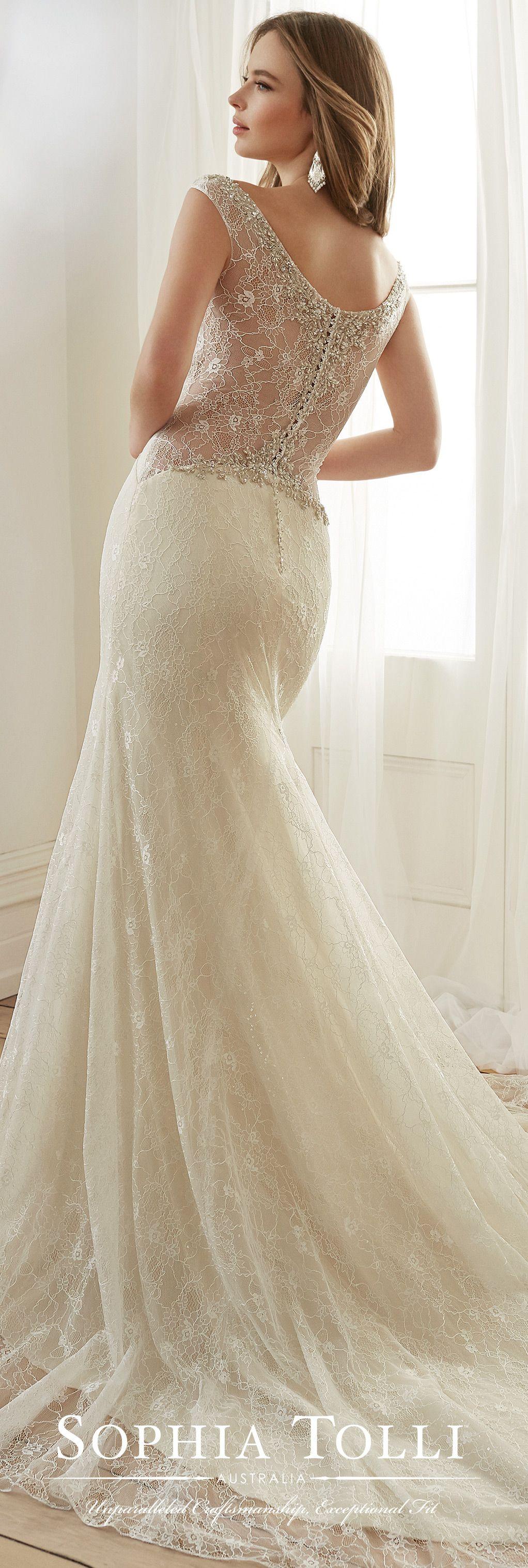 Fit and flare dress wedding  Y Fleur