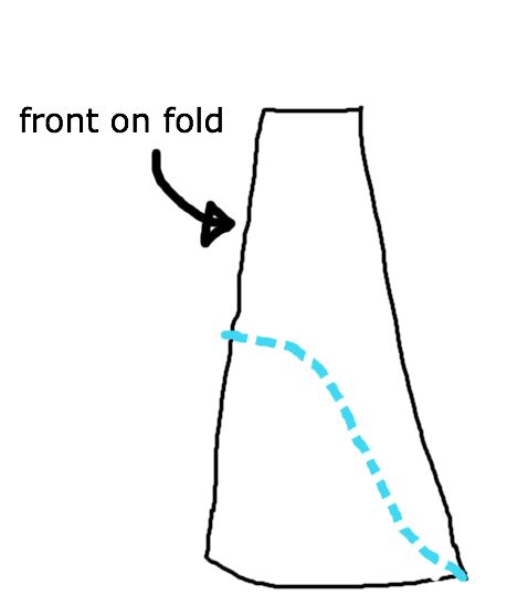 How To Cut A High Low Dress