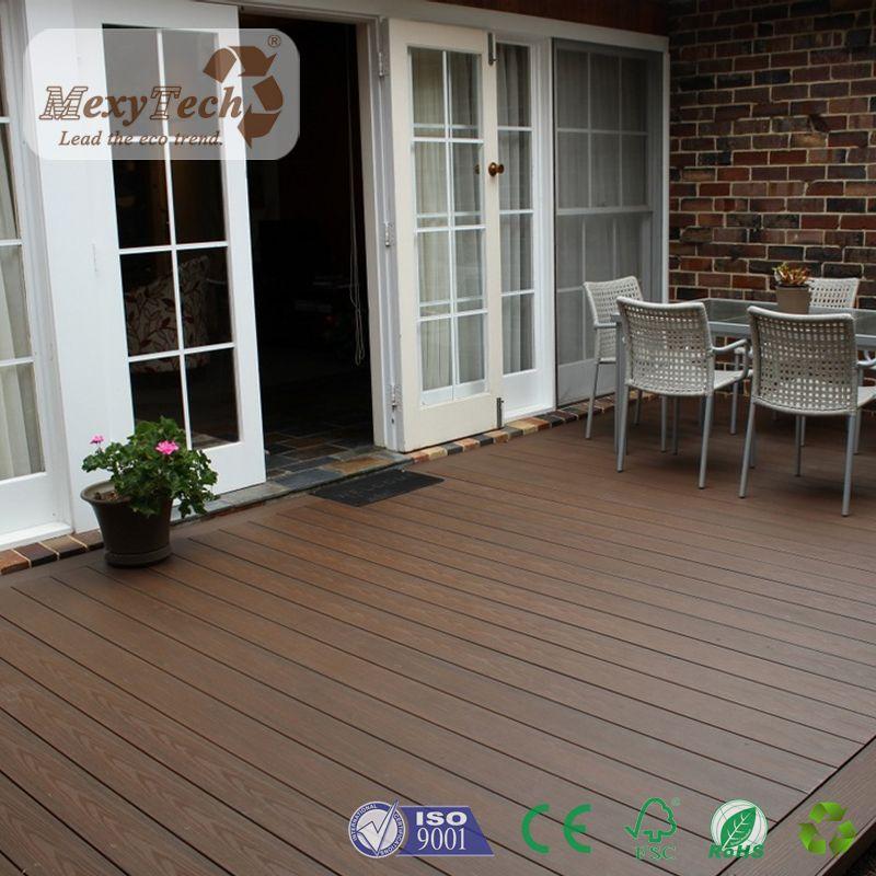 hot sale ecofriendly wood plastic decking waterproof wpc