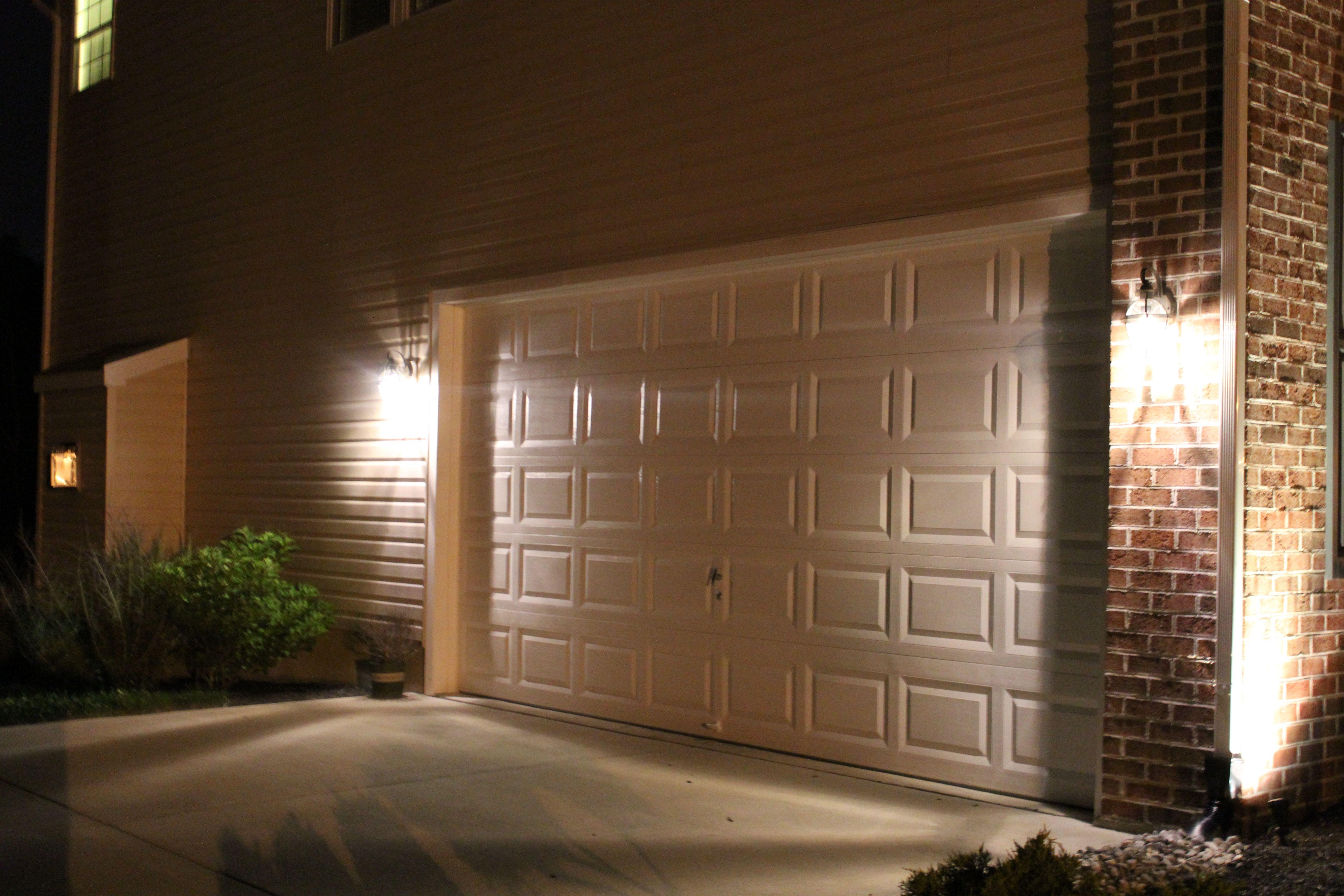 Garage Brick Wall Install Outdoor Light Garage Lighting Wall Lighting Design Outside Garage Lights