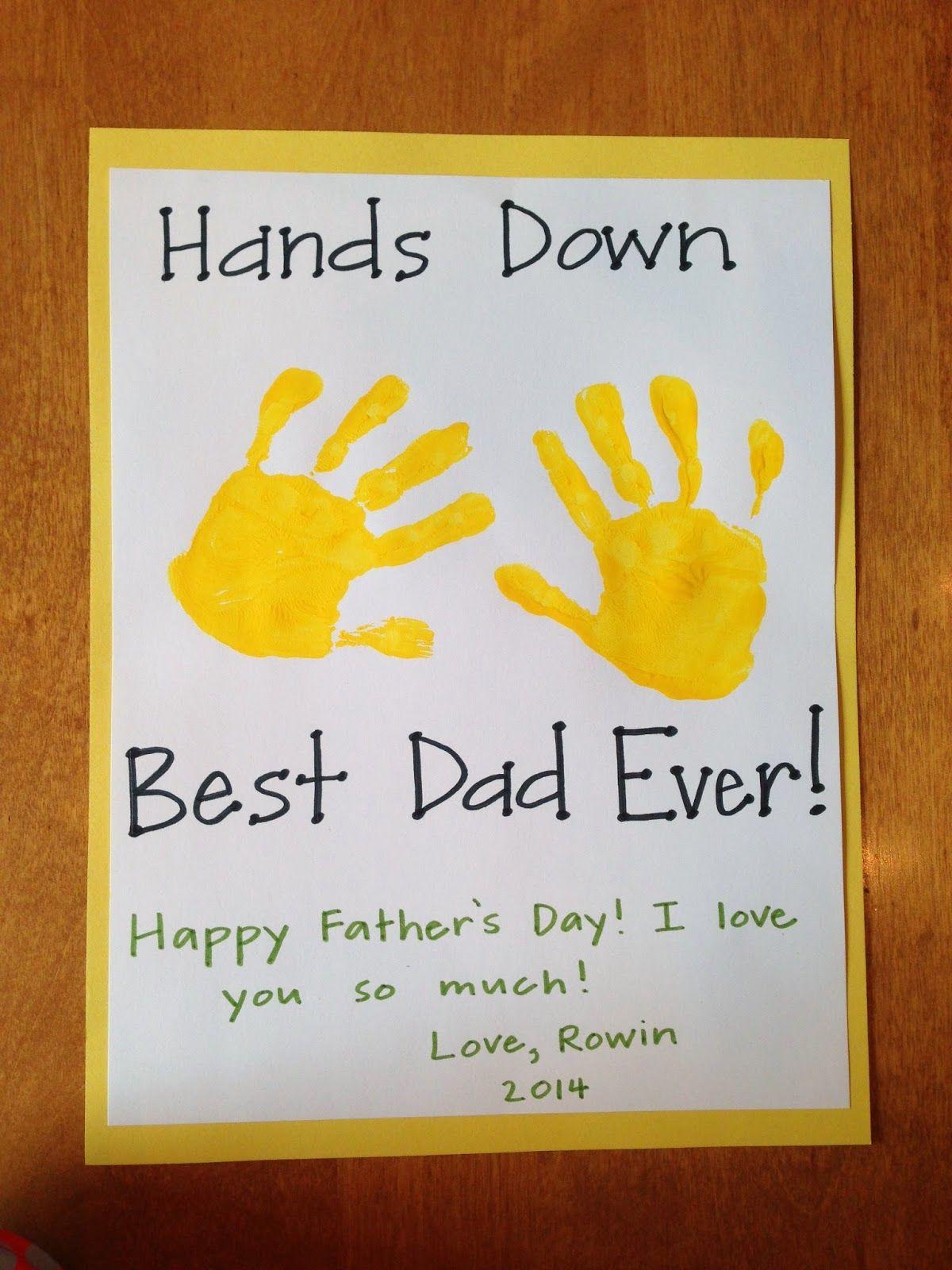 Homemade Father s Day Card Teach Play Love