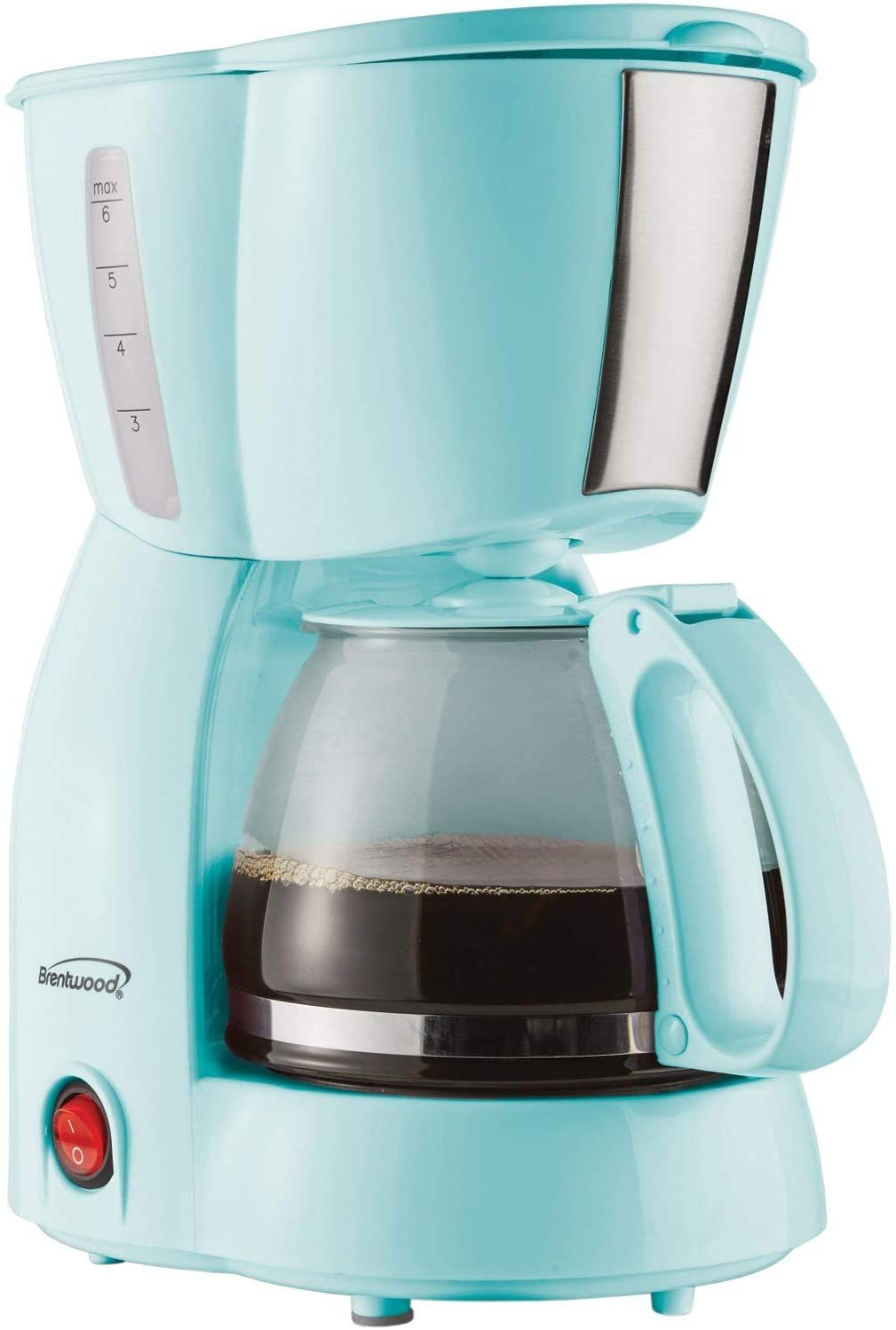 Brentwood Ts 213bl 4 Cup Coffee Maker Blue In 2020 4 Cup Coffee Maker Coffee Maker Coffee Filters