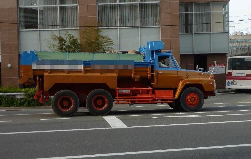 Nissan Diesel TW50LD Dump truck NISSANUD Classic Japan
