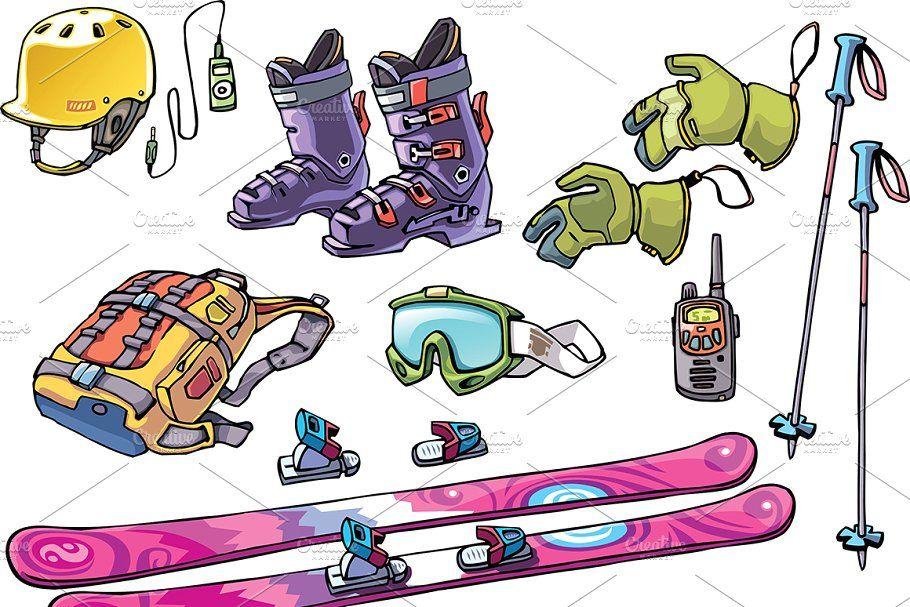 Snowboard Freerider's Stuff in 2020 Freeride ski