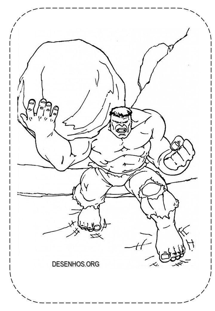 hulk para colorir e imprimir!   desenhos para colorir