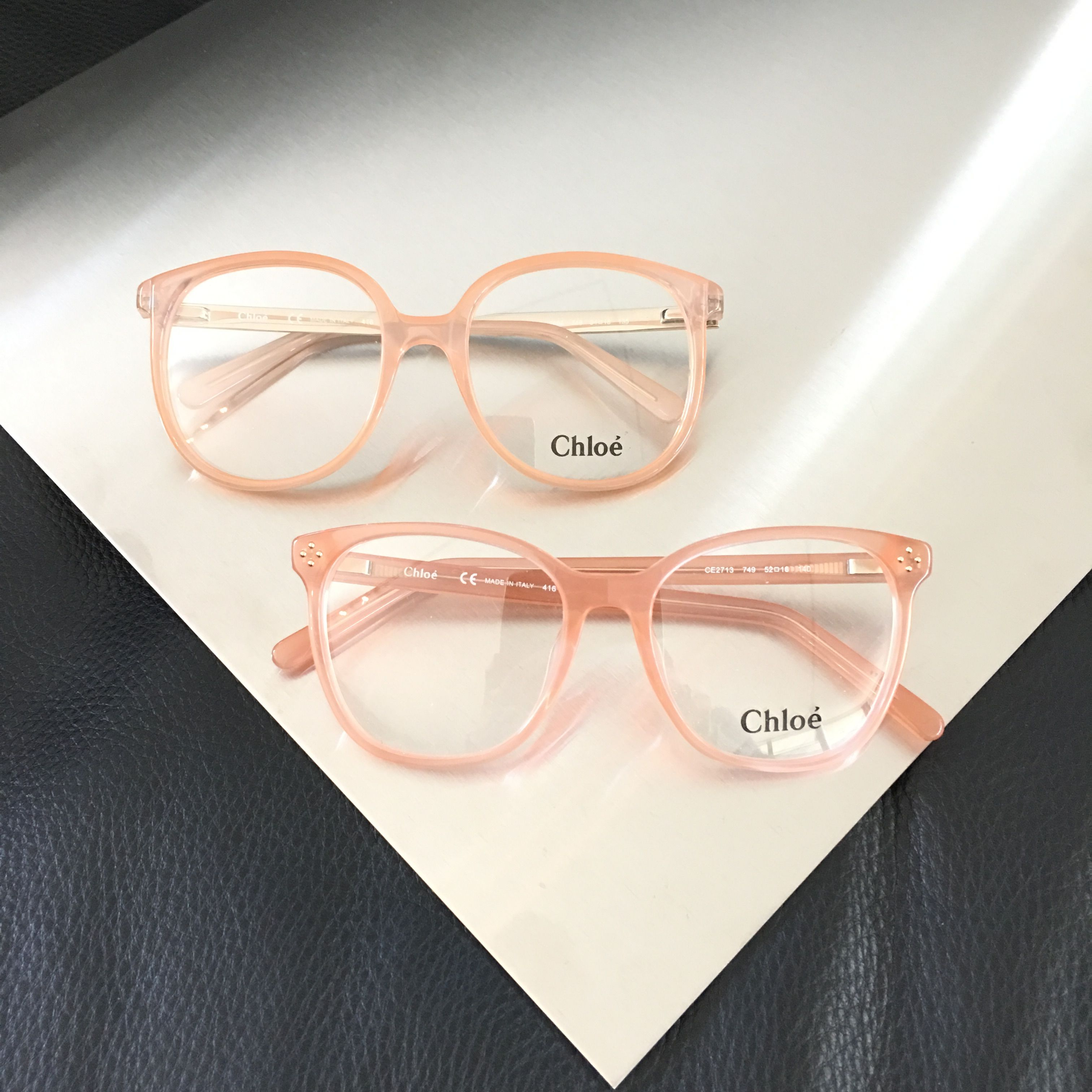 0edb53c1052 Pink crush with these Chloé frames - You can order these eyeglasses with or  without prescription lenses on our webshop www.eyecatchonline.com