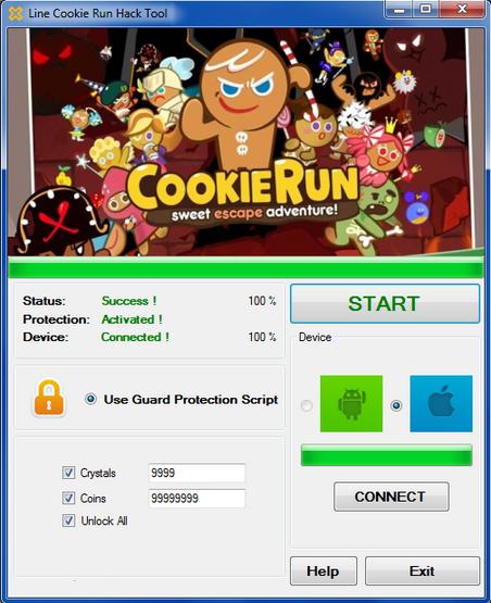 hack tool line cookie run no survey