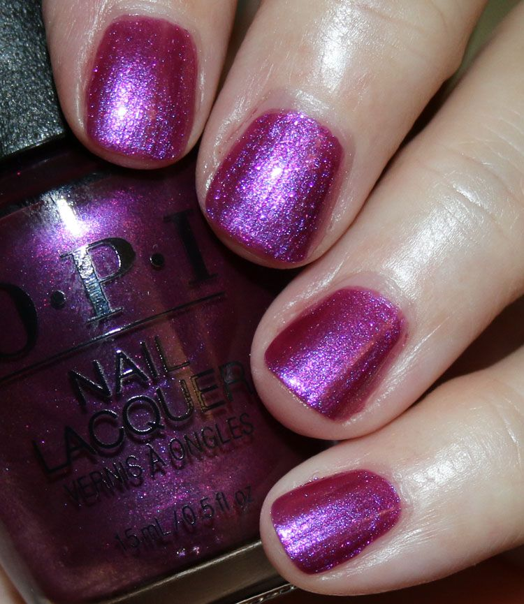 Opi The Nutcracker And The Four Realms Opi Berry Fairy Fun Nails Nail Lacquer Nail Polish