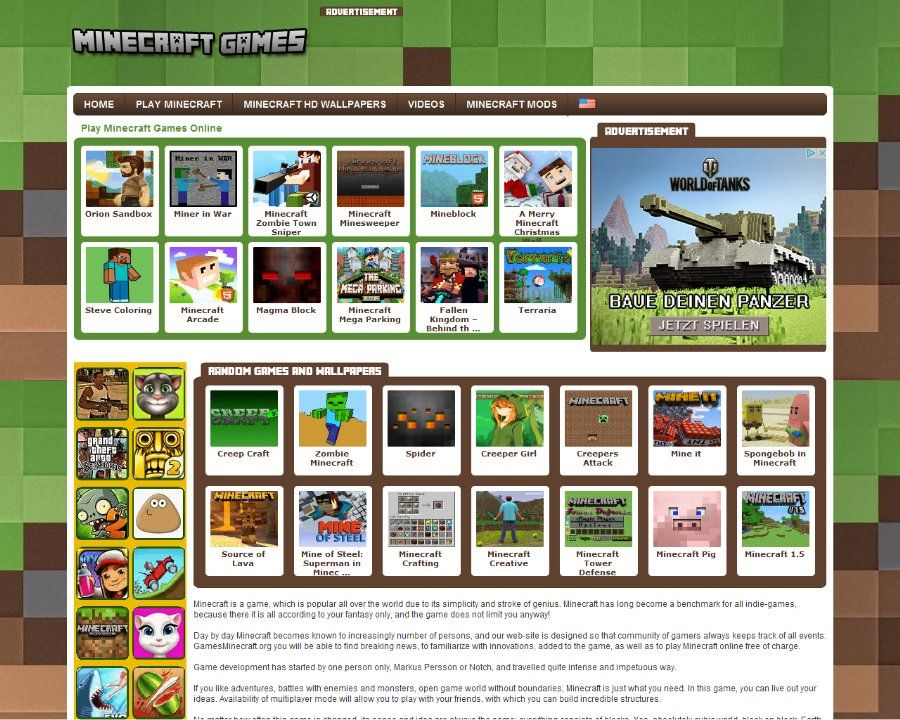 Play Minecraft Games Online San Francisco California Website - Minecraft spielen auf jetztspielen de