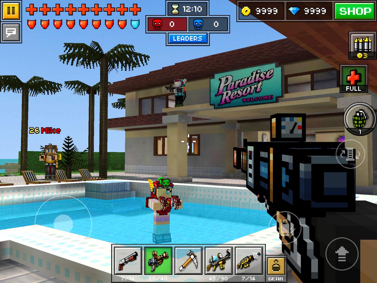 pixel gun 3d hack game