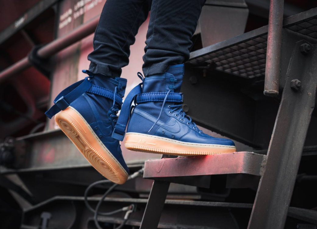 promo code b0a2b fc36d Get Ready For The Nike SF-AF1 High Midnight Navy