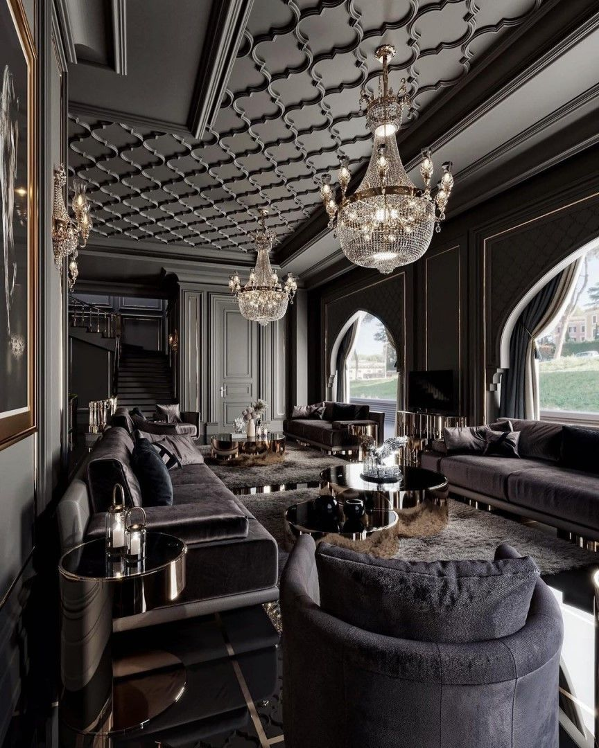 LUXXU: Black enhances elegance, comfort, glamou