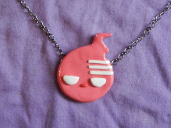 Soul Eater Character Necklace Death The Kid by DoroLife on Etsy, $18.00