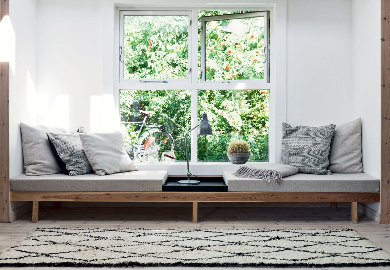 Kitchen bay window exterior  sådan bygger du din egen daybed  boligindretning  pinterest