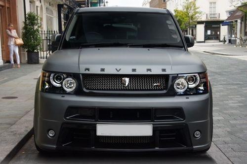 Range Rover Paint >> Matte Grey Range Rover Sport By Revere Sick Azz Paint Job Roll