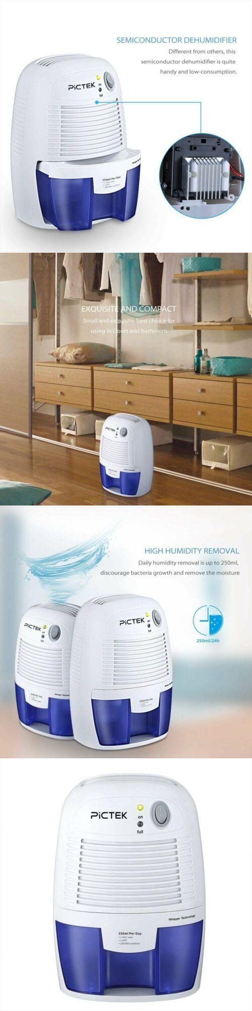 Dehumidifiers 79621 Mini Portable Air Dehumidifier