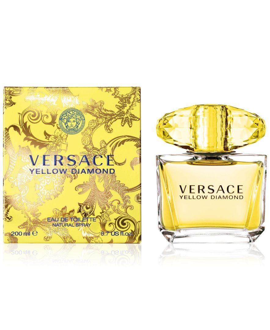 Versace Yellow Diamond Eau De Toilette 67 Oz Products Perfume