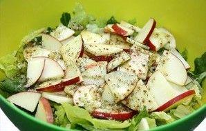 Dilled Romaine Salad With Apples Recipe - Recipezazz.com