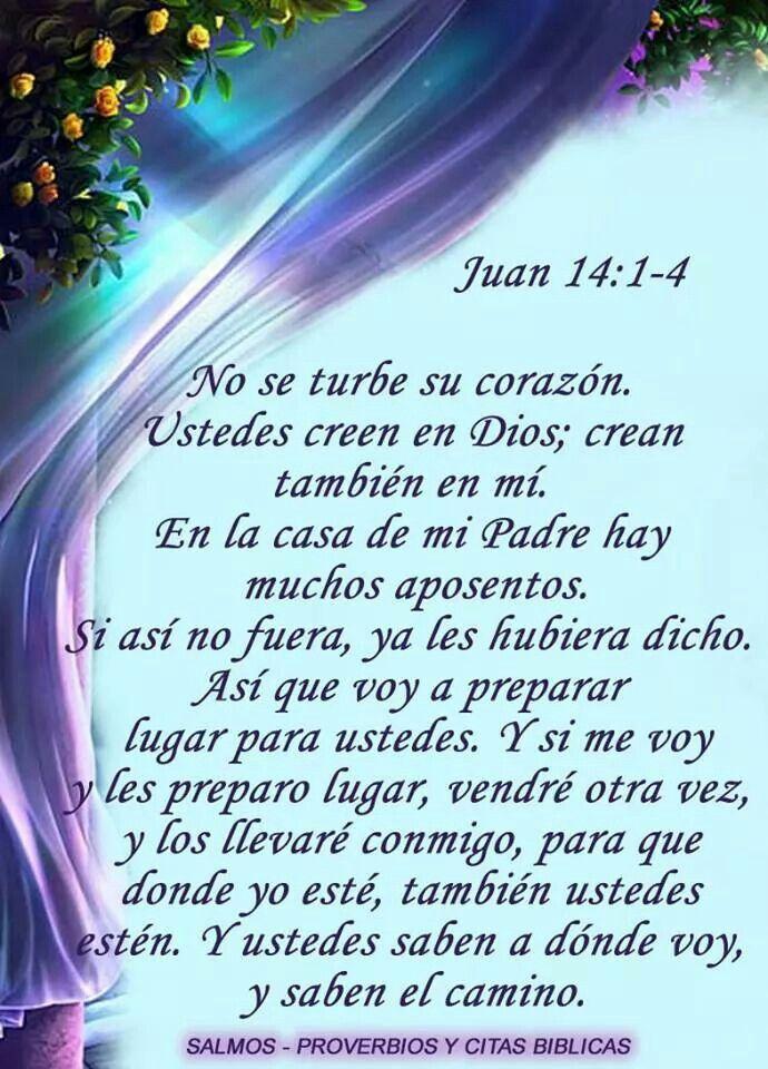 Resultado de imagen para Juan 14, 1-4