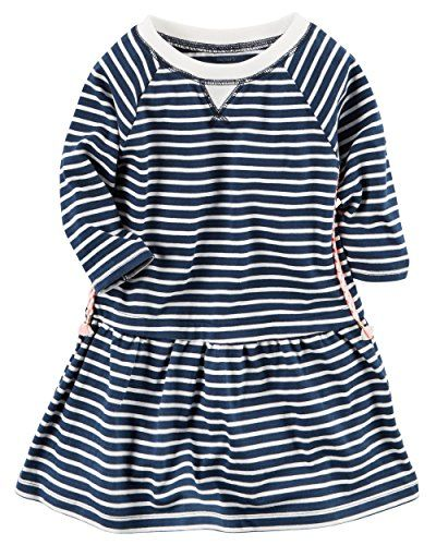 119e8ce99888 Carters Toddler Girls Striped Knit Dress 2t   To view further for ...