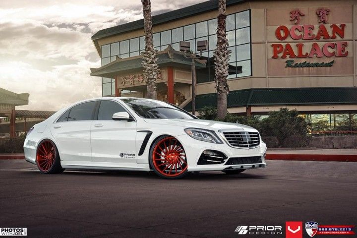 Prior Design Body Kit For The New Mercedes Benz S Class Benz S