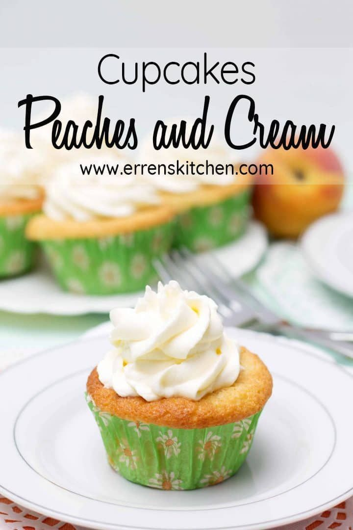 This creative yet easy recipe for Peaches and Cream Cupcakes are simply decorated and perfect for birthdays or party food, why not involve the family baking isn�t just for kids!