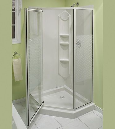 Allia Shr 6034 1 Piece Neo Angle Shower Corner Shower Kits